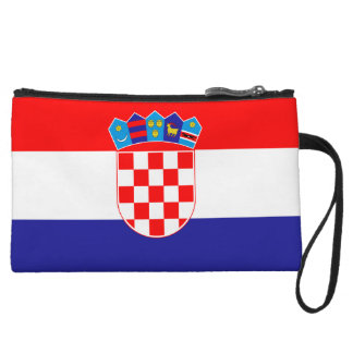 Croatia Flag Wristlets Wallet