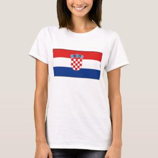 Croatia Flag x Map T-Shirt
