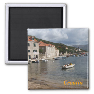 croatia fridge magnet