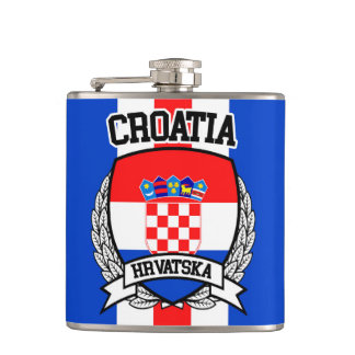 Croatia Hip Flask