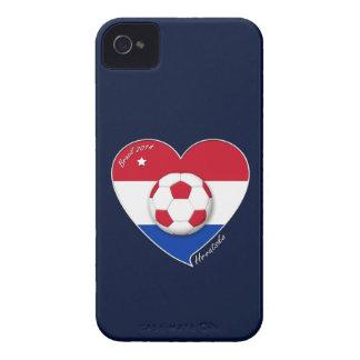 """Croatia """"HRVATSKA"""" Soccer Team Soccer the Croatia  Case-Mate iPhone 4 Cases"""