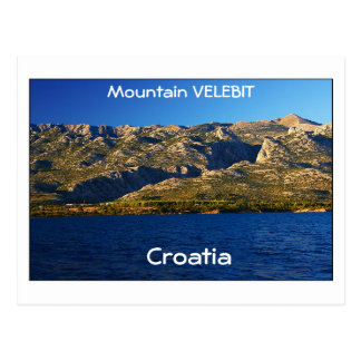 Croatia - Mountain Velebit Postcard