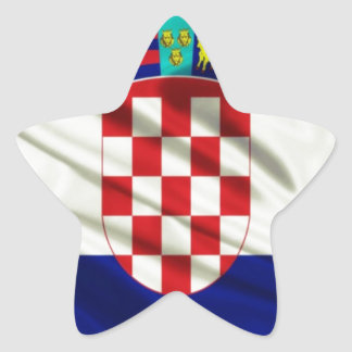 Croatia Movie Industry tribute Star Sticker