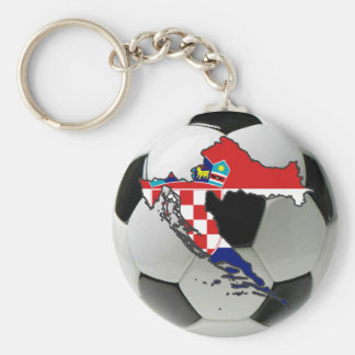 Croatia national team keychain