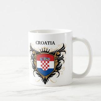 Croatia [personalize] basic white mug
