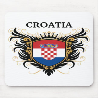Croatia [personalize] mouse pads