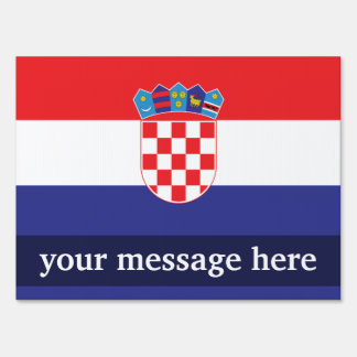Croatia Plain Flag