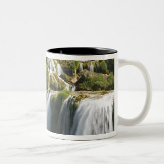Croatia, Sibenik-Knin Region, KRKA NATIONAL Two-Tone Coffee Mug