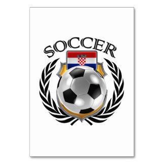 Croatia Soccer 2016 Fan Gear Card