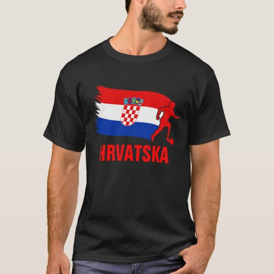 Croatia Soccer Flag T-Shirt