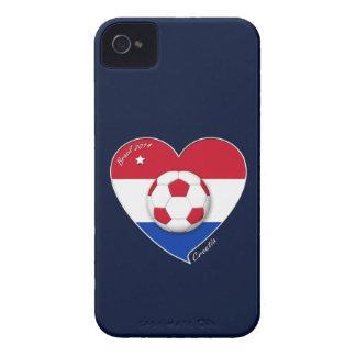 """CROATIA"" Soccer Team 2014. Soccer of the Croatia iPhone 4 Cases"
