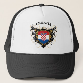Croatia Trucker Hat