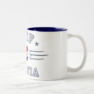 Croatia Two-Tone Coffee Mug