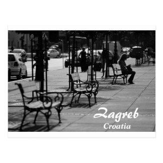 Croatia - Zagreb Postcard