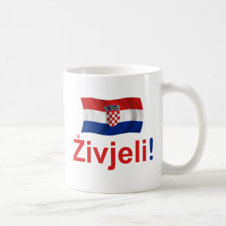 Croatia Zivjeli! (Cheers) Coffee Mug