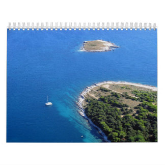 Croatian Adriatic sea Calendar
