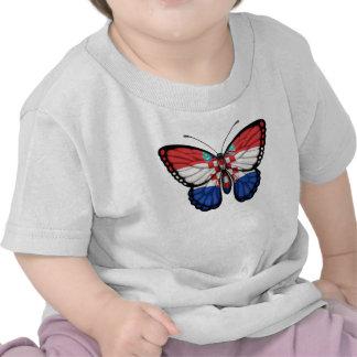 Croatian Butterfly Flag Shirt