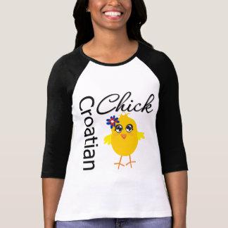 Croatian Chick Tee Shirt