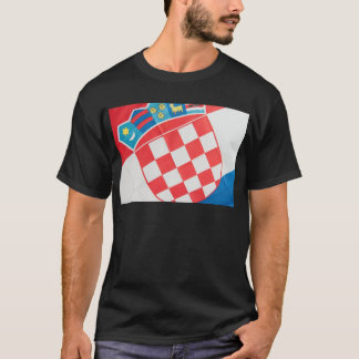 Croatian flag abstract T-Shirt