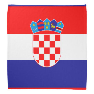 Croatian flag bandana | Colors of Croatia
