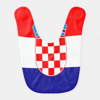 Croatian flag bib