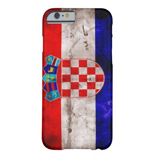 Croatian Flag iPhone 6 Case