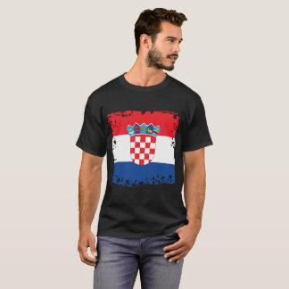Croatian Flag, Croatia Colors T-Shirt