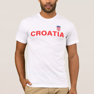 croatian_flag, CROATIA T-Shirt