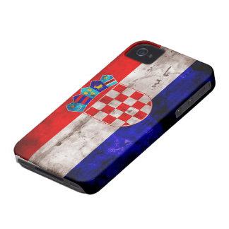 Croatian Flag iPhone 4 Cases