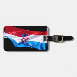 Croatian Flag Luggage Tag