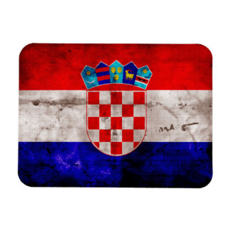 Croatian Flag Magnet