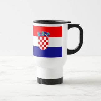 Croatian flag mug