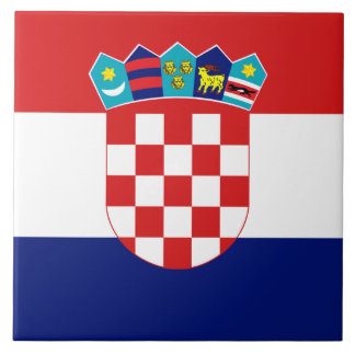 Croatian Flag Tile
