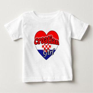 Croatian Girl Baby T-Shirt