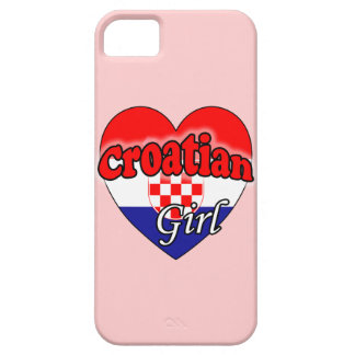 Croatian Girl iPhone 5 Cases
