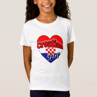 Croatian Girl T-Shirt