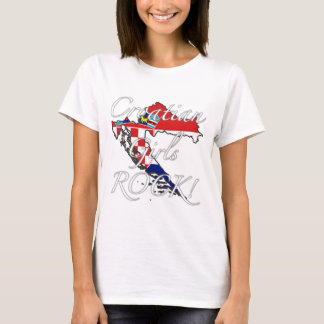 Croatian Girls Rock! T-Shirt