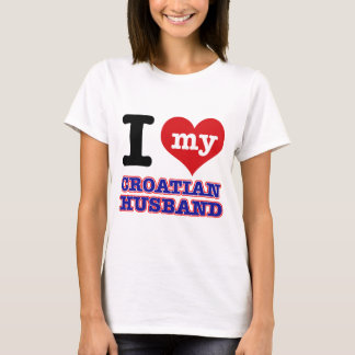 Croatian I heart designs T-Shirt