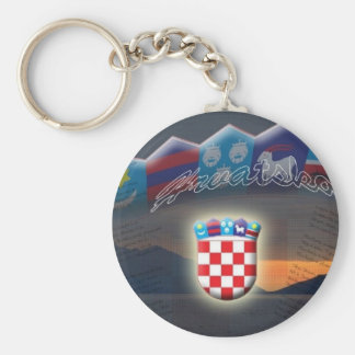 Croatian Key Chain