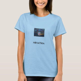 Croatian Ladies T-Shirt
