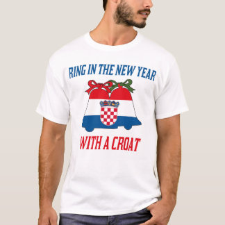 Croatian New Year's T-Shirt