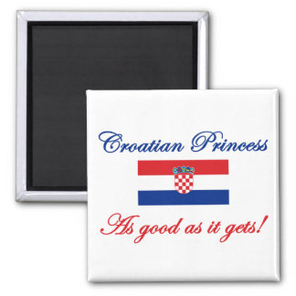 Croatian Princess Magnet