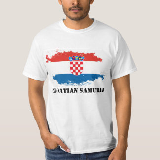 Croatian Samurai T-Shirt