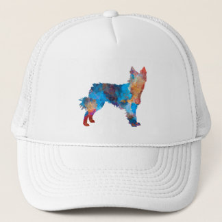 Croatian Sheepdog in watercolor Trucker Hat