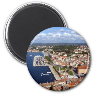 Croatian Skyline Magnet