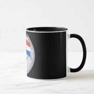Croation Soccer Ball Mug