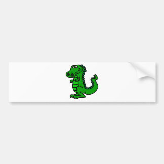 croc bumper sticker