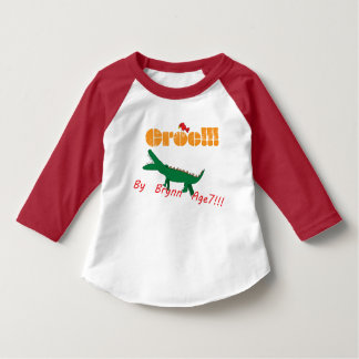 Croc! By Brynn Age 7 T-Shirt