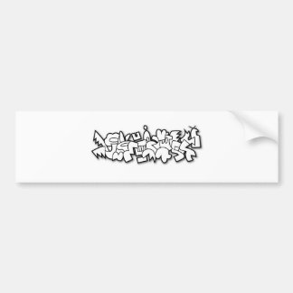 Crocbunny Bumper Sticker