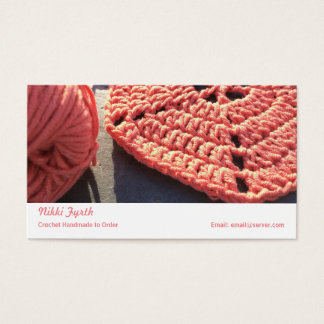 Crochet business  card
